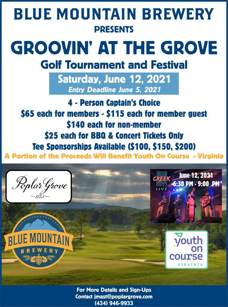 Groovin at the Grove Flier